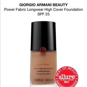 💯 % Authentic GiorgioArmaniPowerFabric Foundation